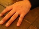 じゃじゃぁ~~ん!結婚指輪