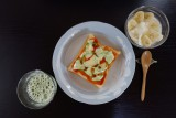 Kさん自作の朝食!栄養満点!