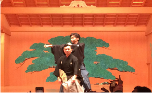 大蔵基誠氏と従兄弟