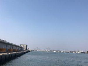 銚子港の様子