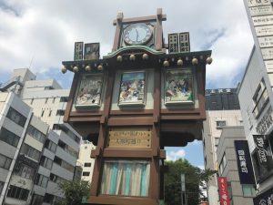 江戸落語からくり櫓時計