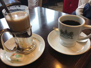 アラビアの真珠とカフェオーレ