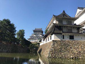 美しい城とお濠