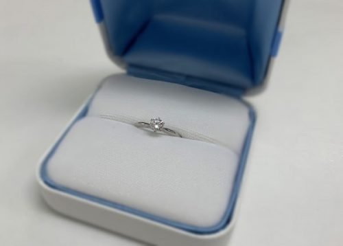 婚約指輪も見せていただきました♪
