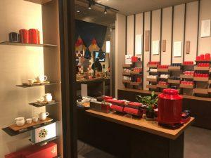 台湾茶ショップコーナー