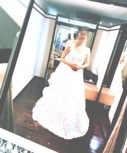 美しいドレス姿